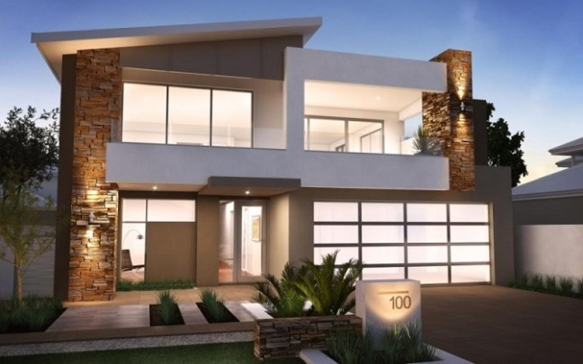 Desain Rumah Minimalis 2 Lantai – Laman 9 – SI MOMOT
