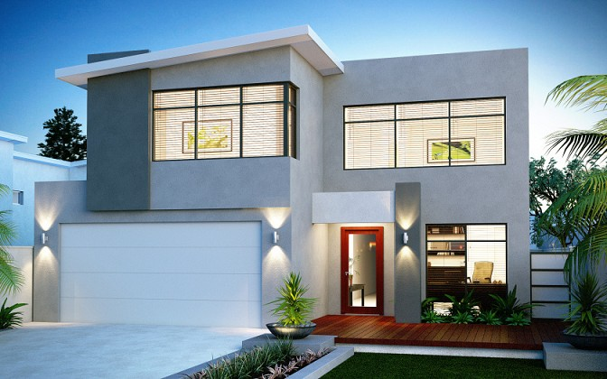 Rumah Minimalis Dua Lantai Terbaru ~ Gambar Rumah Idaman