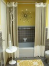 foto model interior kamar mandi mungil sederhana 2013