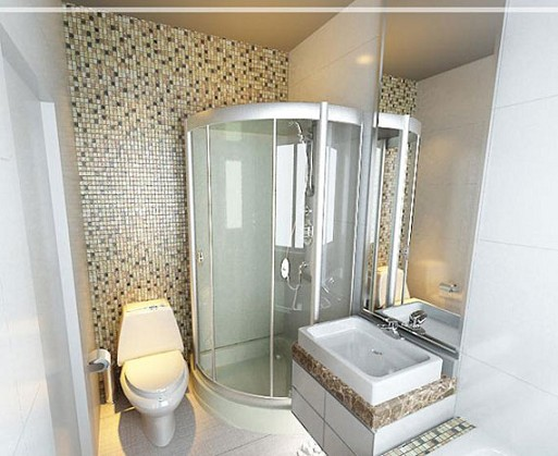 Design kamar mandi kecil si momot for Ideas remodelacion banos pequenos