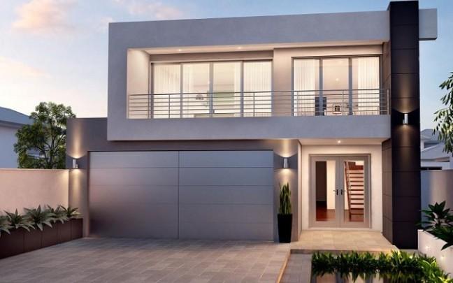 Desain Rumah Minimalis Ruko 2 Lantai  desain rumah minimalis 2 lantai laman 5 si momot