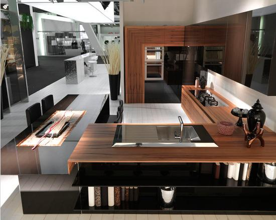 desain ruang dapur terbuka terbaru 2013 2014 si momot