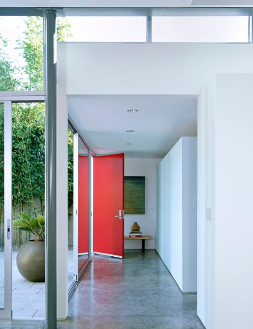 pintu depan rumah minimalis