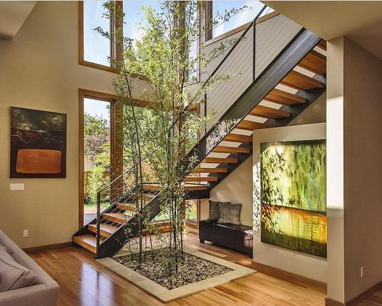 gambar tangga rumah kayu 2020 SI MOMOT
