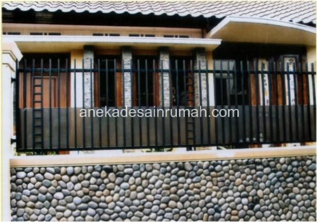 desain dan gambar pagar dan pintu besi minimalis modern dan konvensional