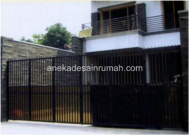 109 desain pagar dan pintu besi minimalis modern dan