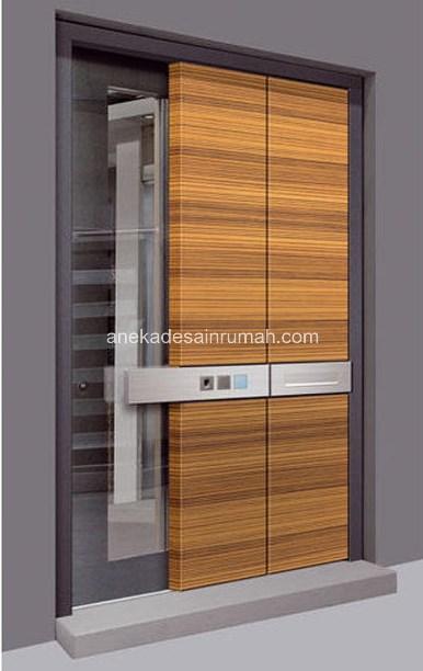 desain pintu antar ruangan kamar rumah modern minimalis