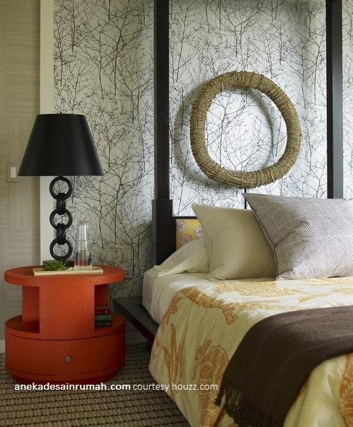 Gambar desain wallpaper dinding kamar tidur minimalis modern | SI ...