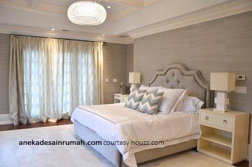Desain Wallpaper Dinding Kamar Tidur Kontemporer 1 Si Momot