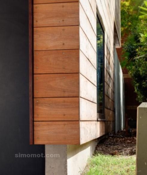foto desain eksterior rumah minimalis modern ke 232 si