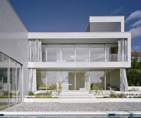 foto desain eksterior rumah minimalis modern ke 261 si