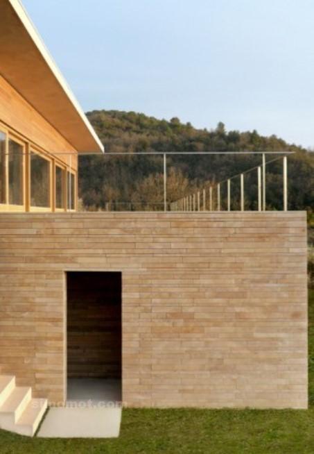 foto desain eksterior rumah minimalis modern ke 373 si