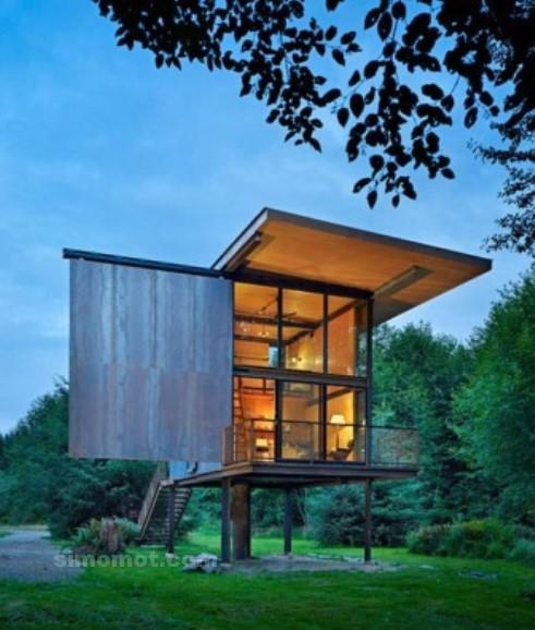 desain eksterior rumah minimalis 2015