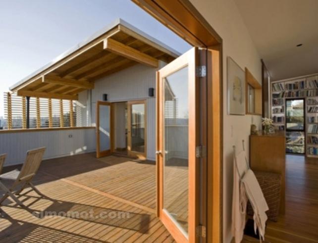 foto desain eksterior rumah minimalis modern ke 61 si