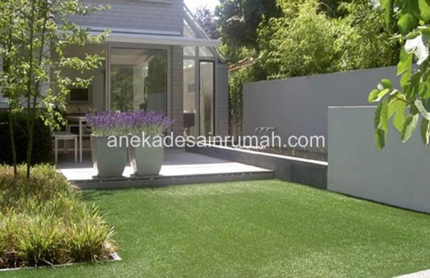 taman minimalis tanpa air 168 foto disain dan model