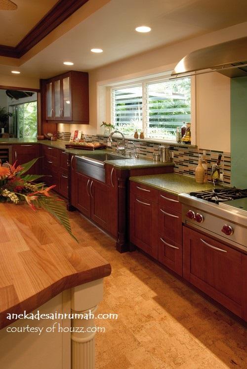 gambar desain dapur minimalis rumah di daerah tropis si