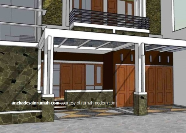 63 Desain kanopi  rumah minimalis modern   Si Momot
