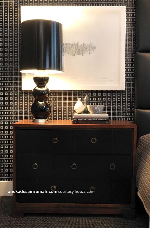 "... "" Gambar desain wallpaper dinding kamar tidur minimalis modern"