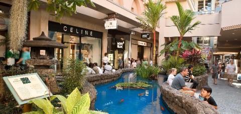 Ala Moana Shopping Center, Hawaii