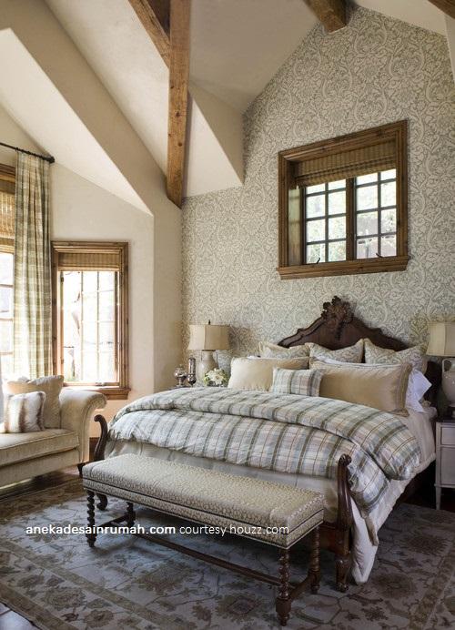 desain wallpaper dinding kamar tidur minimalis modern | SI MOMOT
