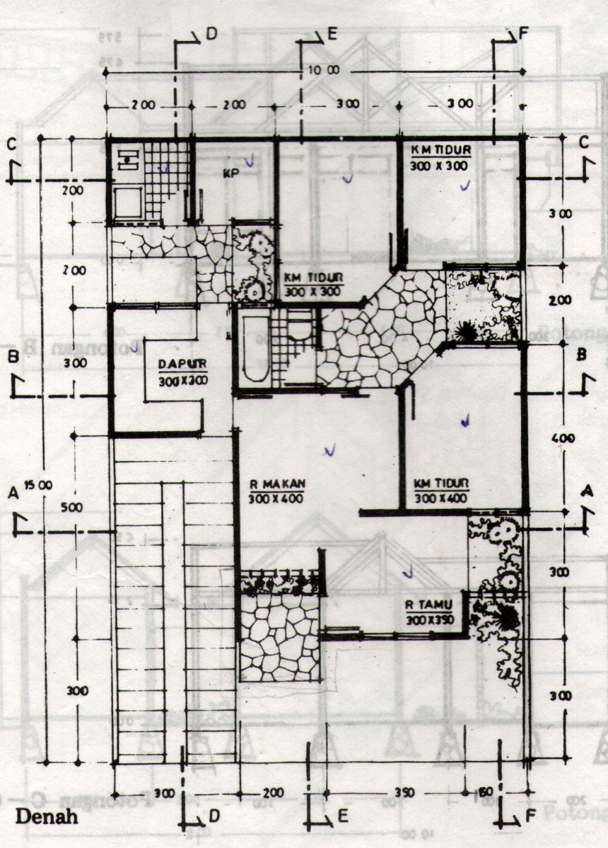 rumah arsitek seni arsitektur