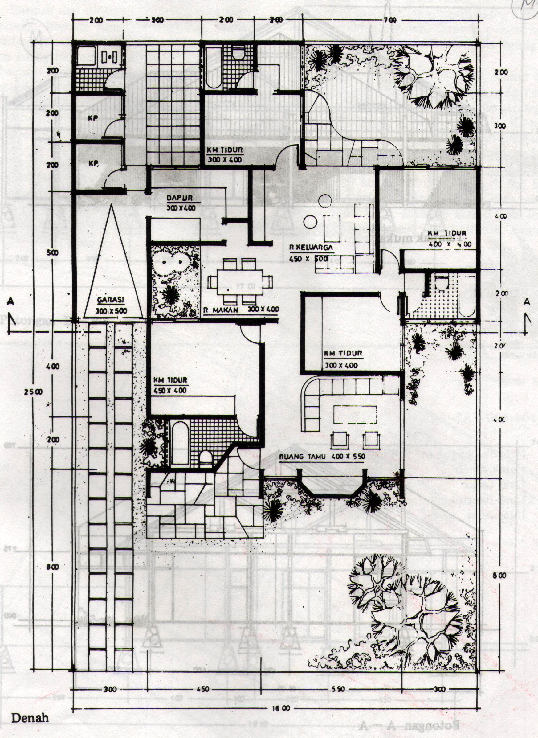 Terbaru 40 Sketsa Rumah Islami Minimalis