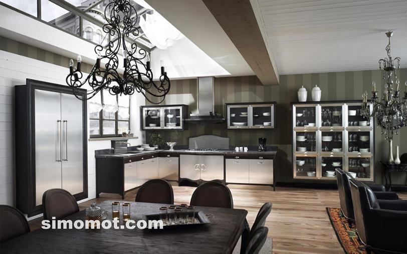 desain interior dapur minimalis modern sederhana 133