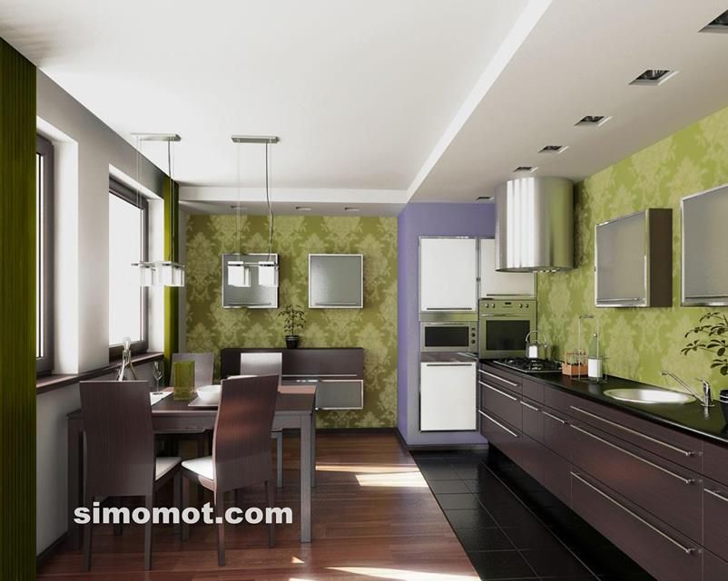 desain interior dapur minimalis modern sederhana 187