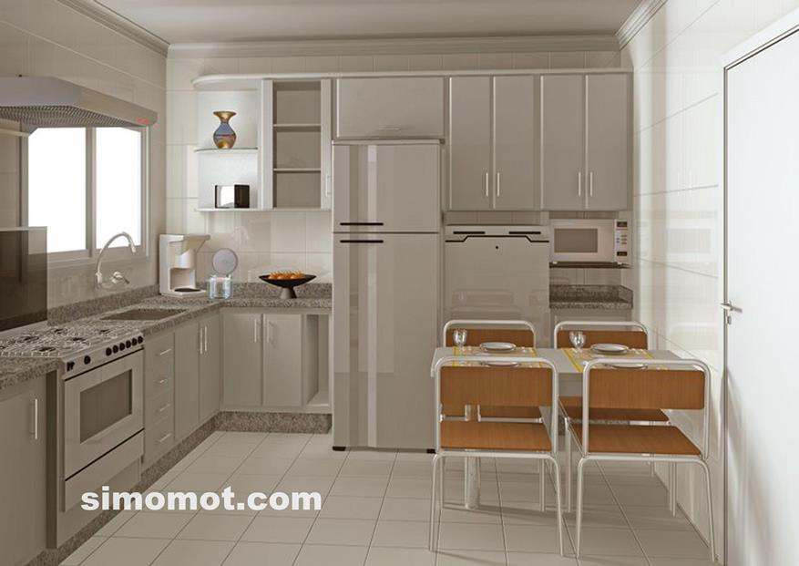 desain interior dapur minimalis modern sederhana 52 si