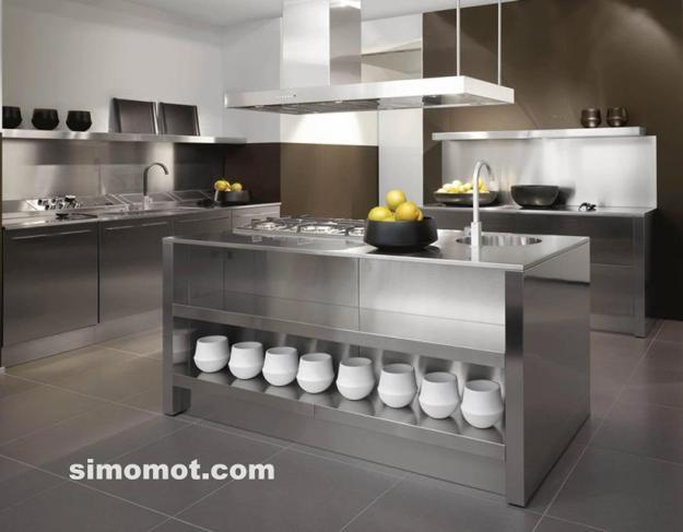 208 Foto desain interior dapur minimalis sederhana trend 2014