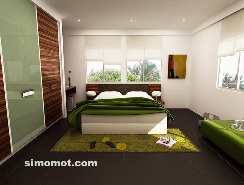 desain interior kamar tidur minimalis modern 116