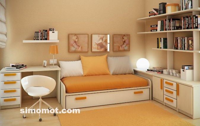 34 foto desain interior kamar tidur minimalis modern anak usia SMP-SMA ...