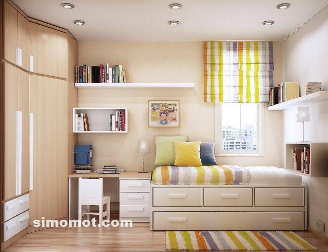 Desain Kamar Tidur Minimalis Ukuran 5x4  model rumah minimalis kamar 5x4