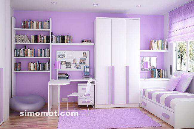 Desain Interior Kamar Tidur Minimalis Modern Anak Usia SMP-SMA – Laman 2 – SI MOMOT