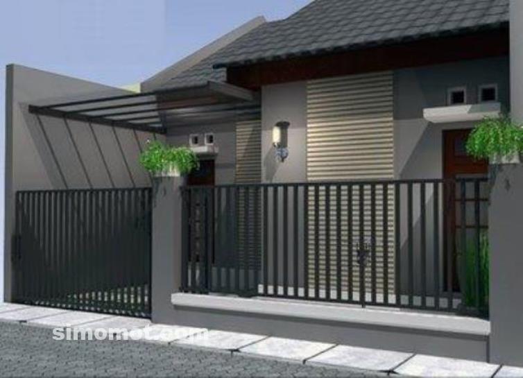 foto desain rumah minimalis 1 lantai 26 si