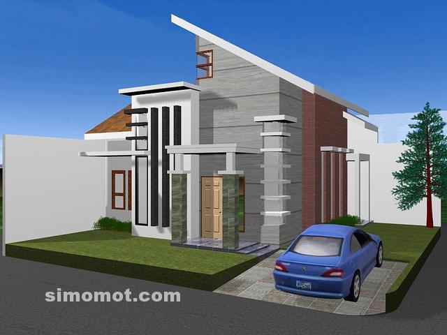 foto desain rumah minimalis 1 lantai 58 si