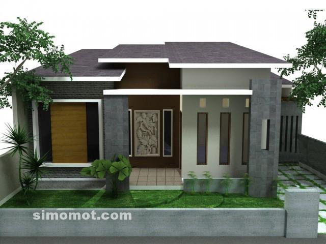 foto desain rumah minimalis 1 lantai 60 si