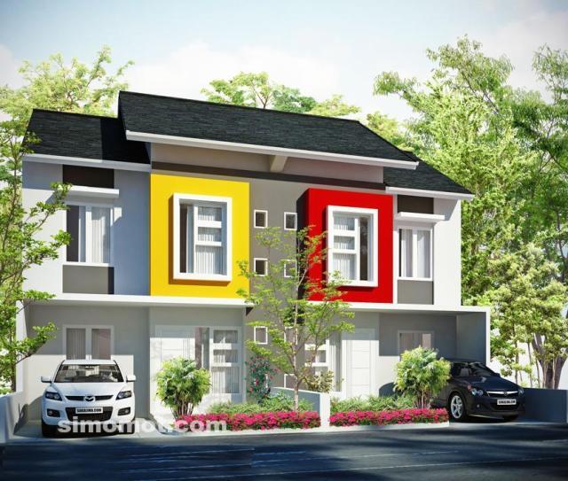 Desain Eksterior Rumah Mewah 1 Lantai  baru lagi 205 foto desain eksterior rumah 2 lantai si momot
