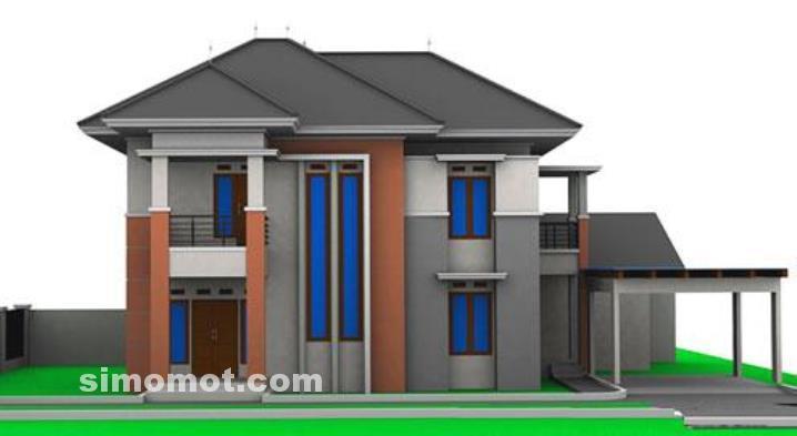 foto desain rumah minimalis susun dan 2 lantai atau lebih