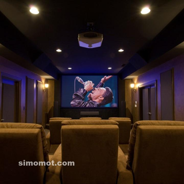 Home Theater Minimalis
