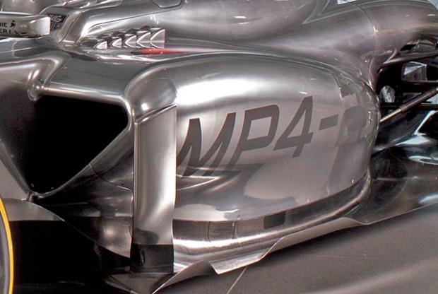 Gambar detail McLaren MP4-29