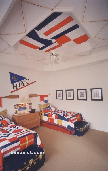 ... dan foto desain kamar tidur anak Balita, usia sekolah TK dan SD (19