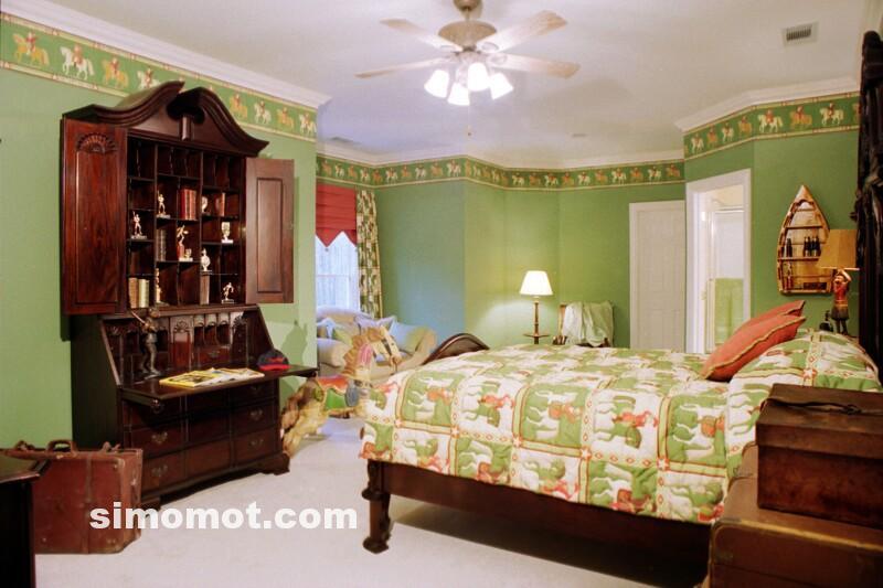 ... dan foto desain kamar tidur anak Balita, usia sekolah TK dan SD (31