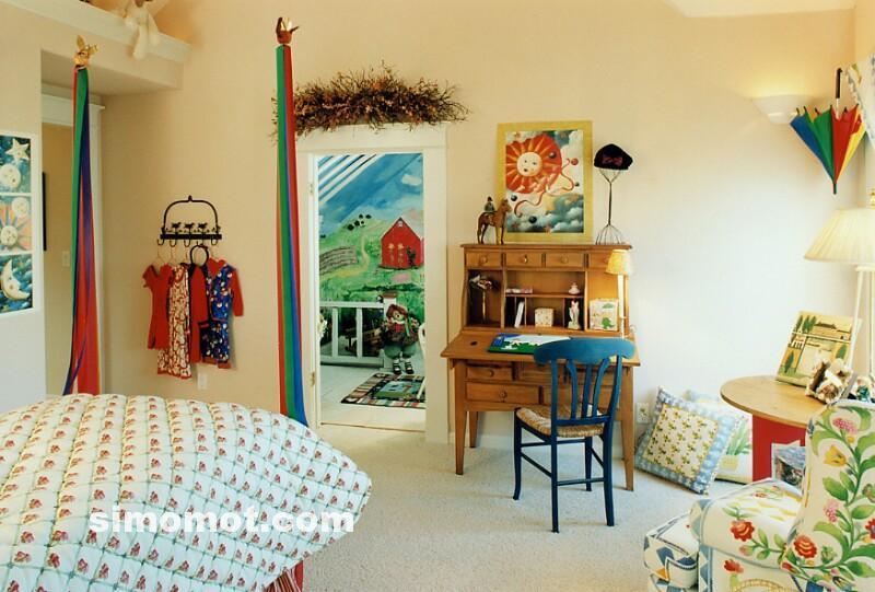 Inspirasi dan foto desain kamar tidur anak Balita, usia sekolah TK dan ...