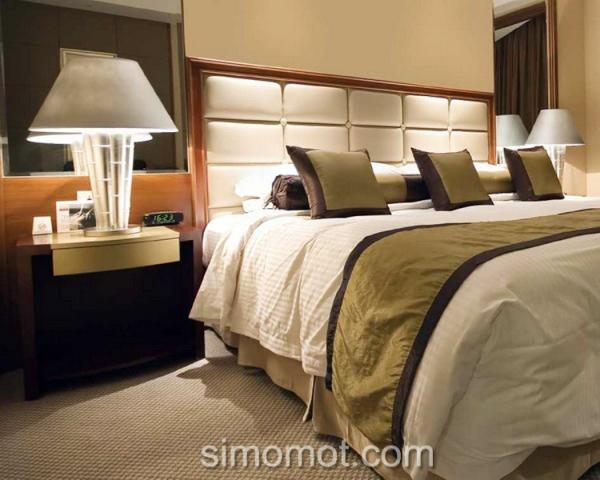 Menyulap kamar tidur seperti hotel butik