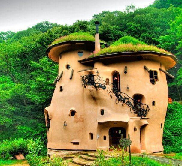 rumah, Inilah 7 Rumah Unik Yang Ada Di Dunia