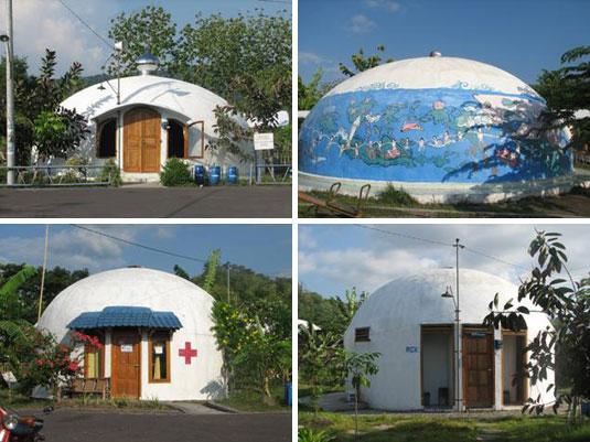 Rumah dome di yogya
