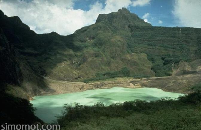 Foto-foto Gunung Kelud tempo dulu
