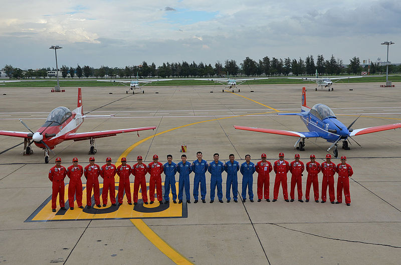 The Jupiter Aerobatic Team TNI Angkatan Udara