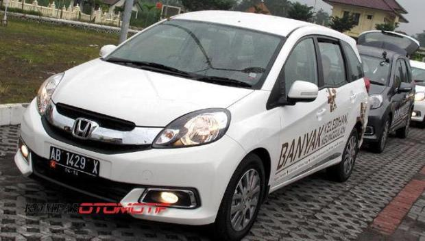 Hasil terbaru test drive konsumsi BBM Honda Mobilio